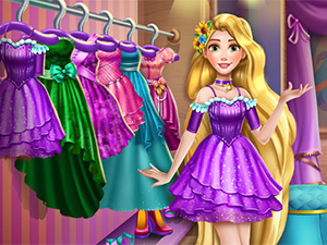 Goldie Princess Wardrobe Cleaning online hra