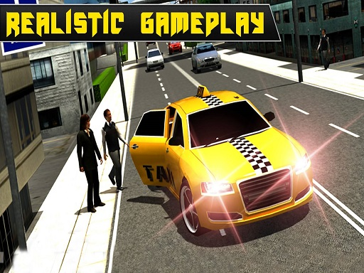 Crazy Taxi Car Simulation ...