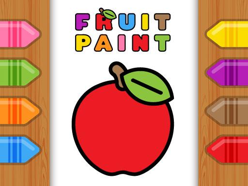 Fruit Paint Game