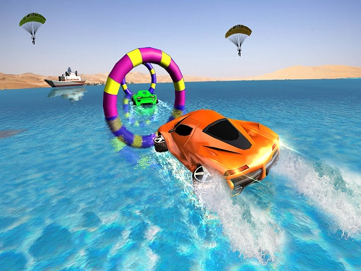 Floating Water Surfer Car ...