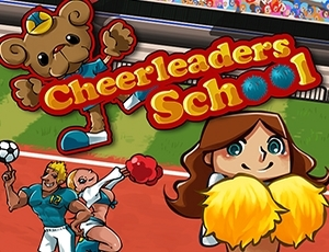 Cheerleaders School online hra