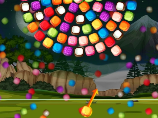 Bubble Shooter Candy Wheel online hra