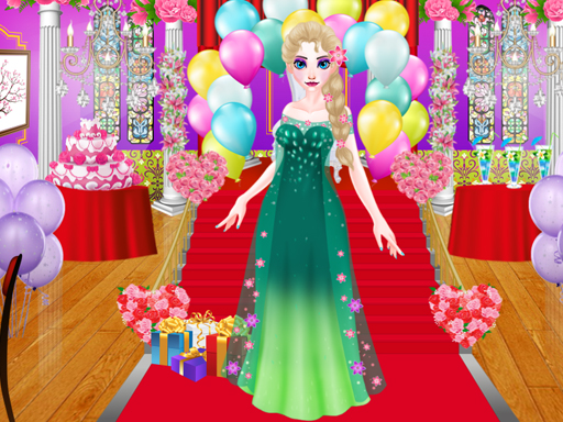 Ice Princess is preparing for spring ball online hra