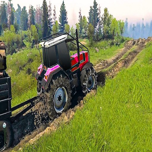 Real Chain Tractor Towing