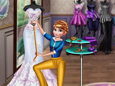 Famous Dress Designer online hra