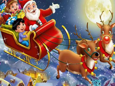 Santa's Puzzle Story!