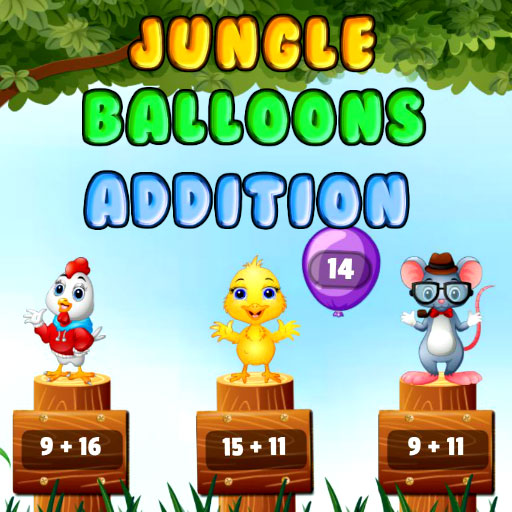 Jungle Balloons Addition