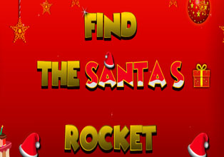 Find the santas rocket