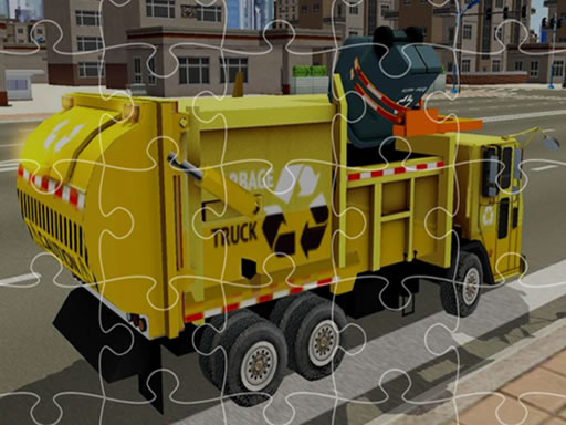 Garbage Trucks Jigsaw