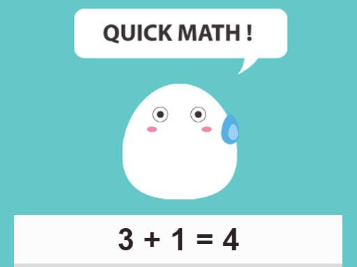 Quick Math online hra
