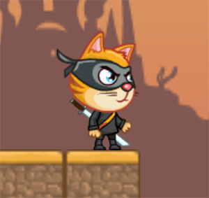 Cat Ninja online hra