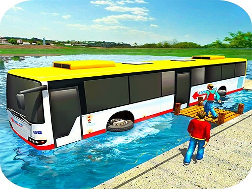 Floating Water Bus Racing ...