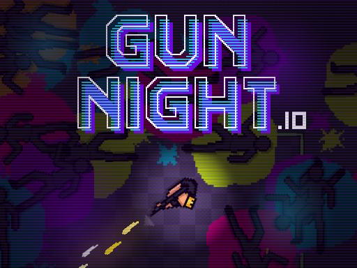 槍夜-枪夜-GUN NIGHT.IO-《槍夜》是一款快節奏的io型槍戰遊戲。用一顆子彈殺死並立即重生。通過射擊其他人或在地圖上找到它們來收集子彈。