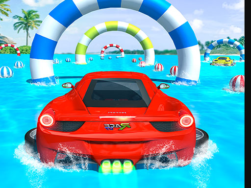 Water Surfing Car Stunts ...