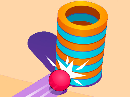 Hit Ball 3D casual arcade game about shooting ball. Controlled by hold the click to fire. Have Fun!