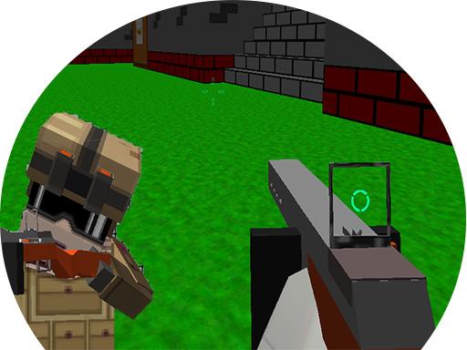 Blocky Gun 3D Warfare Multiplayer online hra