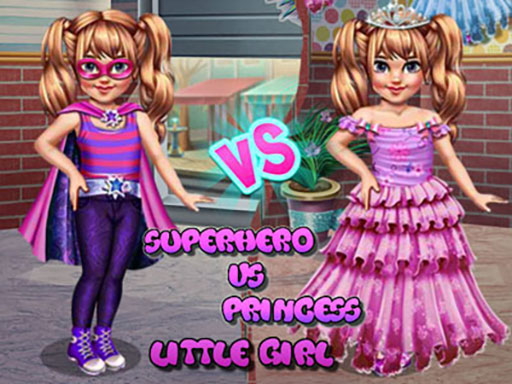 Little Girl Superhero Vs ...