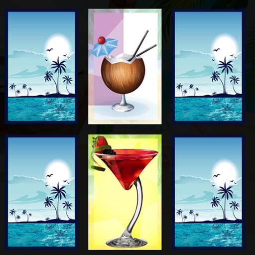 Beach Cocktails Memory