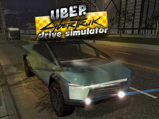 Uber CyberTruck Drive ...