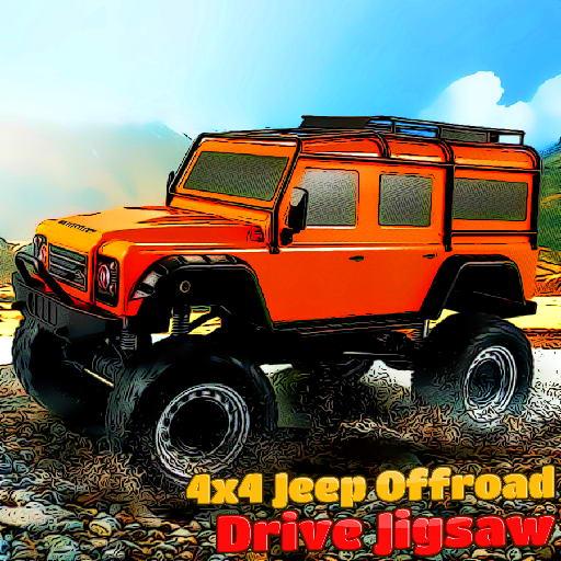 4x4 Jeep Offroad Drive Jigsaw