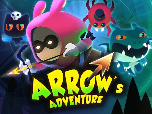 弓箭冒險--Arrow's Adventure-進入地牢並儘可能多地消滅怪物。 收集硬幣購買升級,讓你的角色更強大,並深入地牢!