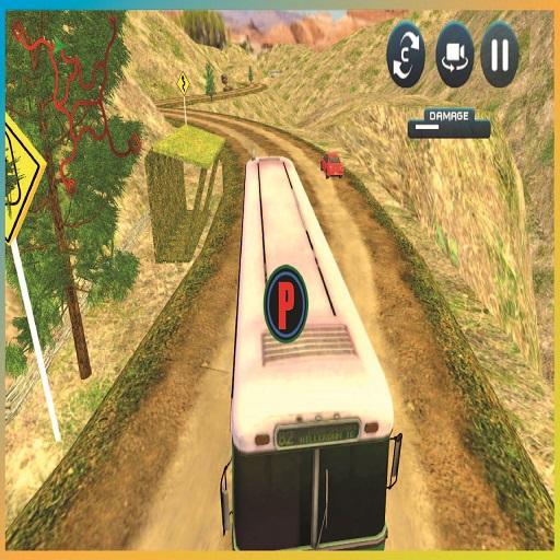 Uphill Passenger Bus Drive Simulator : Offroad Bus