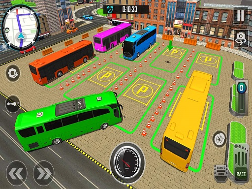 Bus City Parking Simulator