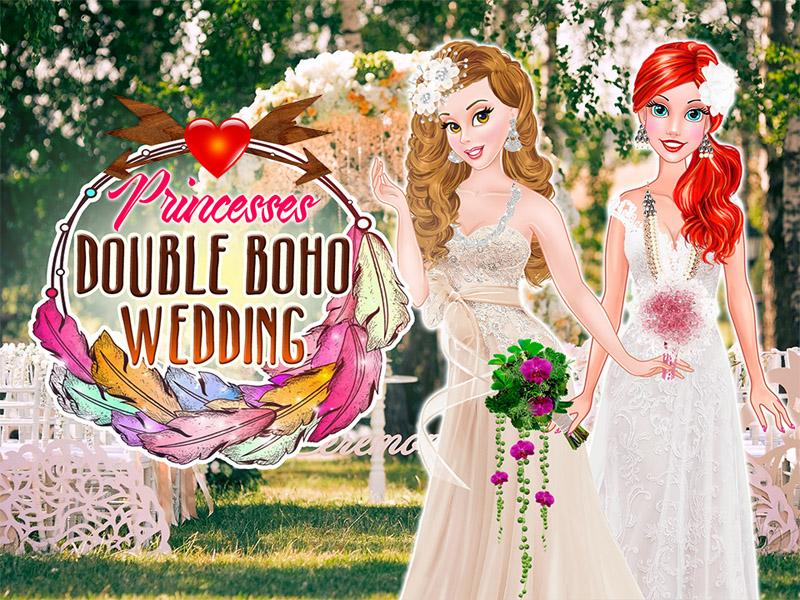لعبة زفاف الأميرات الجميلات