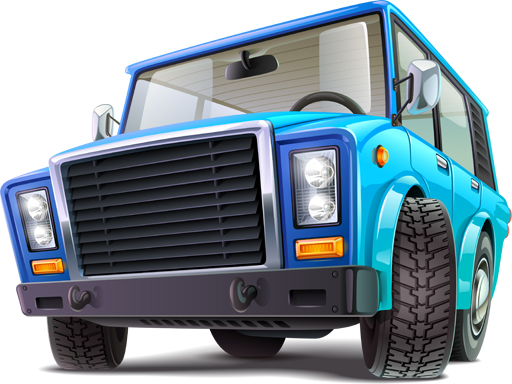 Cartoon Trucks Puzzle