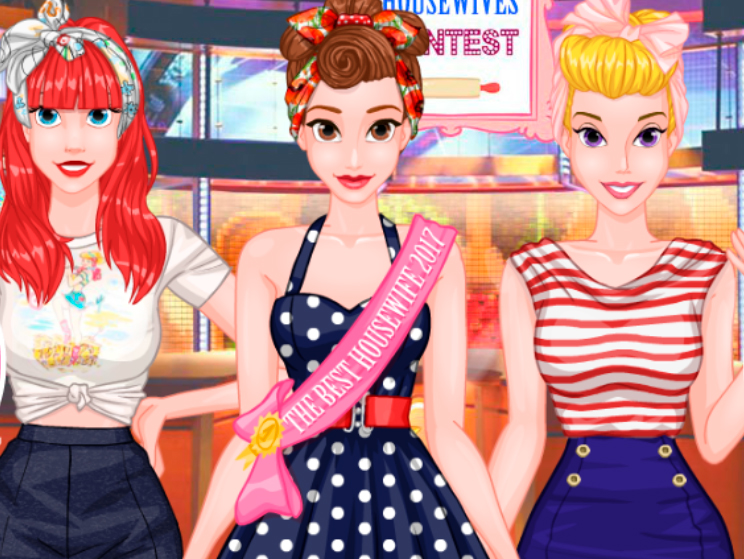 Princesses Housewives Contest online hra