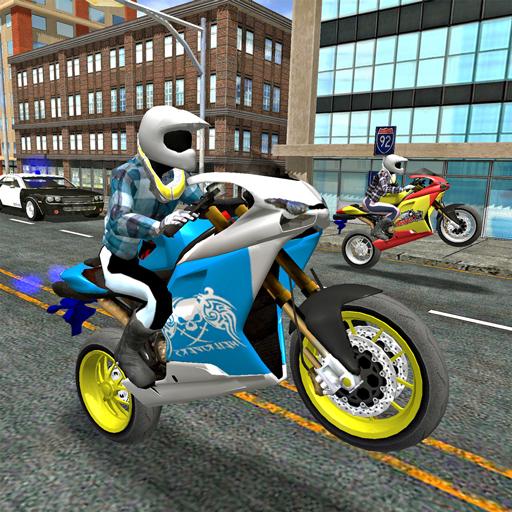 Stunt hero bikes simulator