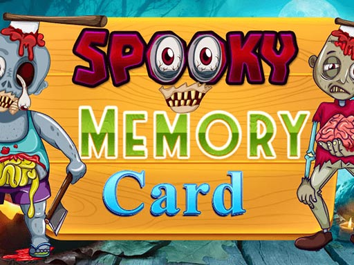 Spooky Memory Card