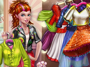 Sery Shopping Day Dress Up online hra