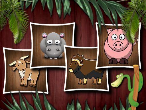 Animal Shapes 3 online hra