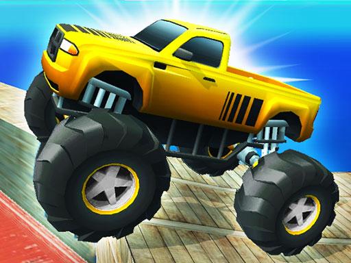Monster Truck Port Stunt online hra