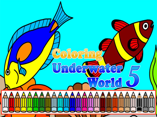 Coloring Underwater World 5 online hra