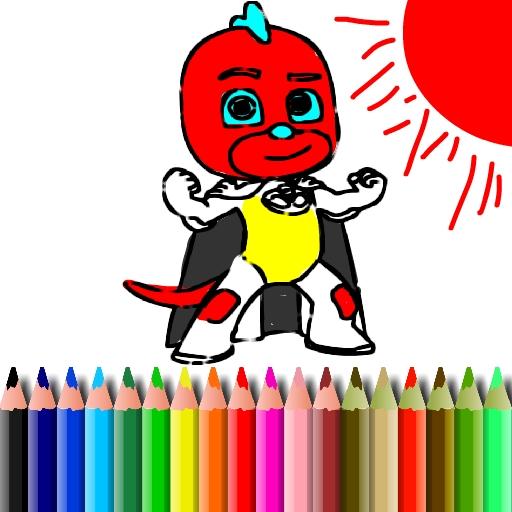 BTS Mask Boy Coloring