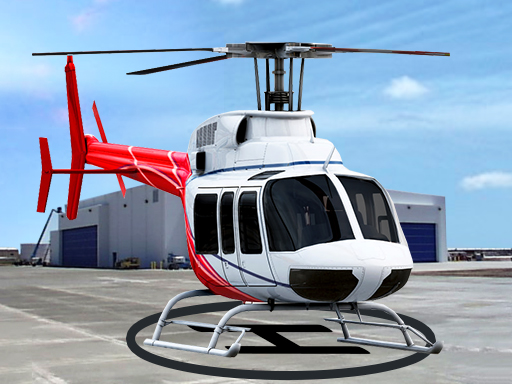 Helicopter Parking and Racing Simulator online hra