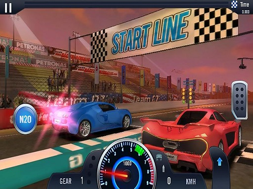 Fast Line Furious Car Racing