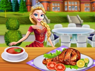 Princesses Grill Party