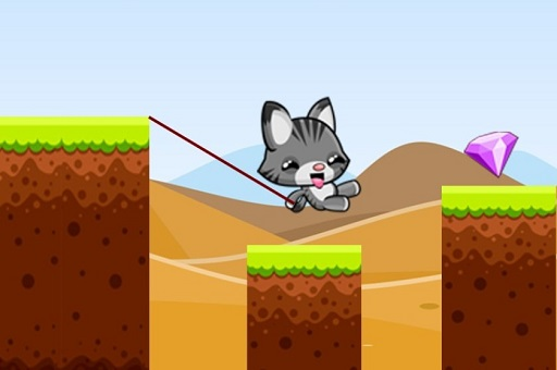 Swing Cat Endless Jump