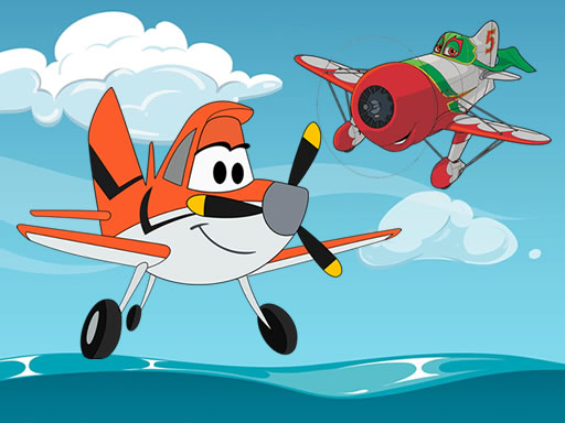 Planes Coloring Book online hra