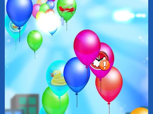 Balloon Pop online hra