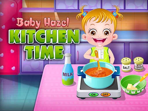 Baby Hazel Kitchen Time game
