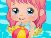 Baby Alice Beach Day
