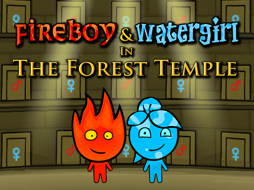 Fireboy and Watergirl 1 Forest Temple game