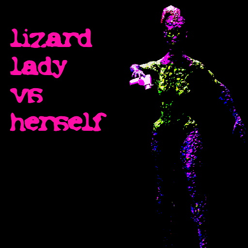 Lizard Lady vs Herself