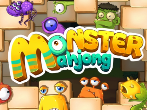 Monster Mahjong online hra