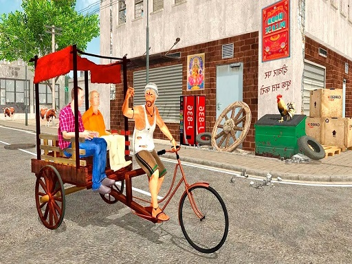 City Public Cycle Rickshaw ...