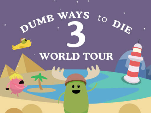Dumb Ways to Die 3 World Tour game